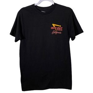 In & Out Burgers Graphic T-shirt Small